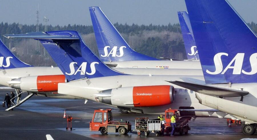 SAS får også ansvaret for at flyve med Sveriges forsvarsansatte på i alt 27 ruter.