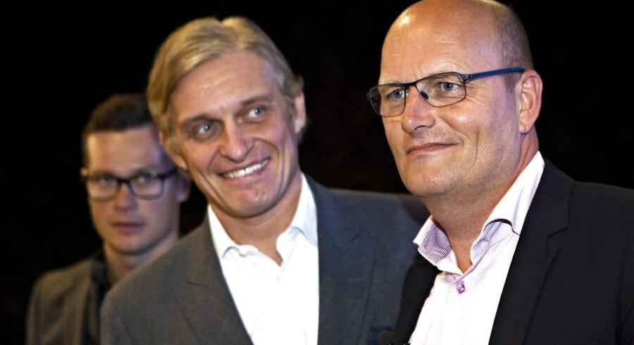 Oleg Tinkov og Bjarne Riis.