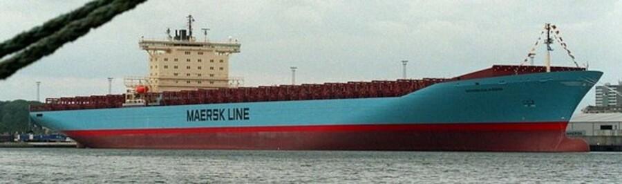 Et af A. P. Møller-Mærsks containerskibe