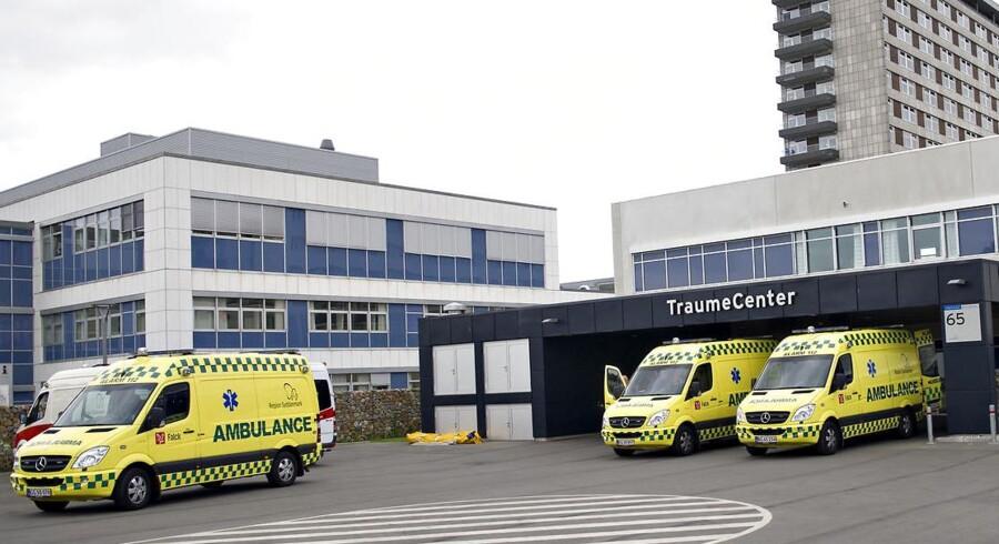 Akutmodtagelsen på Odens Universitetshospital.