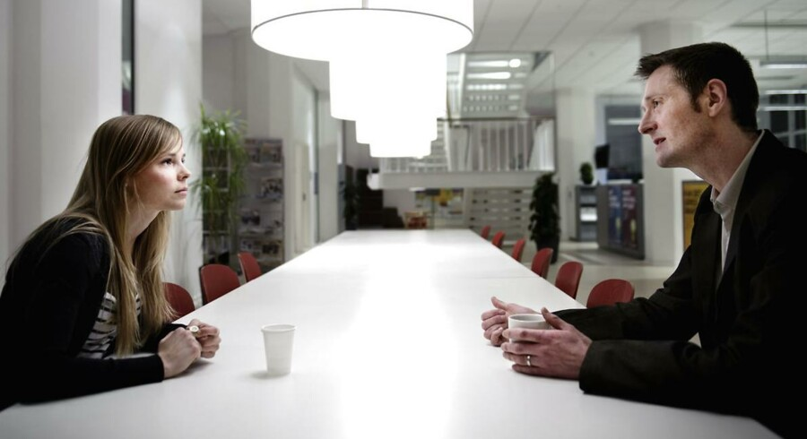 Et rentefrit lån kan blive den nye frynsegode, som danskerne vil forsøge at forhandle sig til hos chefen. Modelfoto.