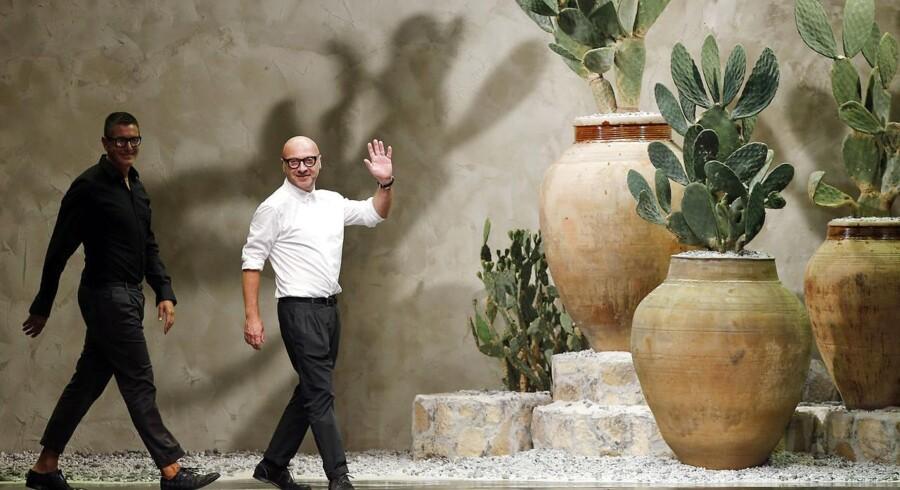 De italienske designere Domenico Dolce og Stefano Gabbana er anklaget for skattesvig for næsten tre milliarder kroner til sammen.