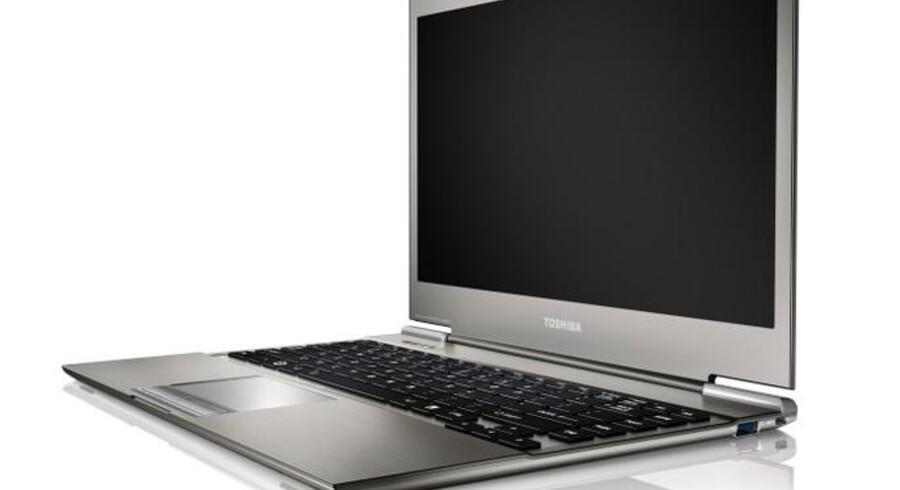 Toshiba melder sig nu blandt letvægterne, og det går ikke ubemærket hen, når det tilmed er den letteste computer i 13 tommers-klassen. Foto: Hardware.no