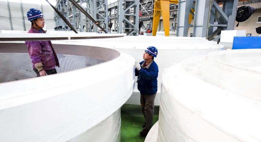 Den kinesiske vindmølleproducent Goldwind tester en prototype af en 6 MW-mølle.