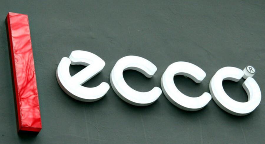 Ecco stod for den største udenlandske butiksvækst i 2008 med 163 nye butikker.