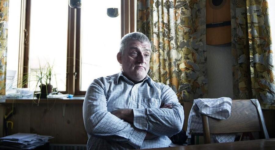 Uffe Graack fik konstateret KOL efter en langvarig lungebetændelse. Foto: Liselotte Sabroe