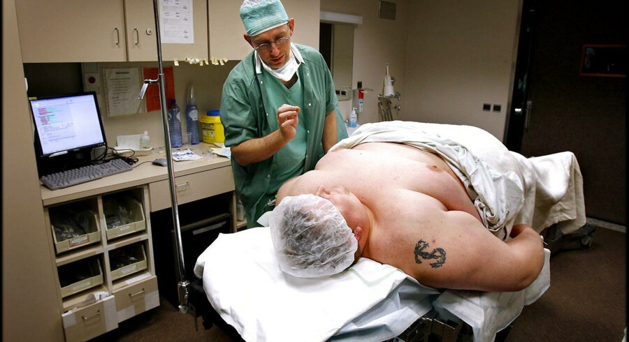 Gastric Bypass-operation.