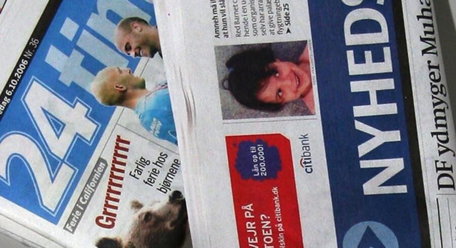 Det er ikke kun aviserne, der rammes af annoncefald.