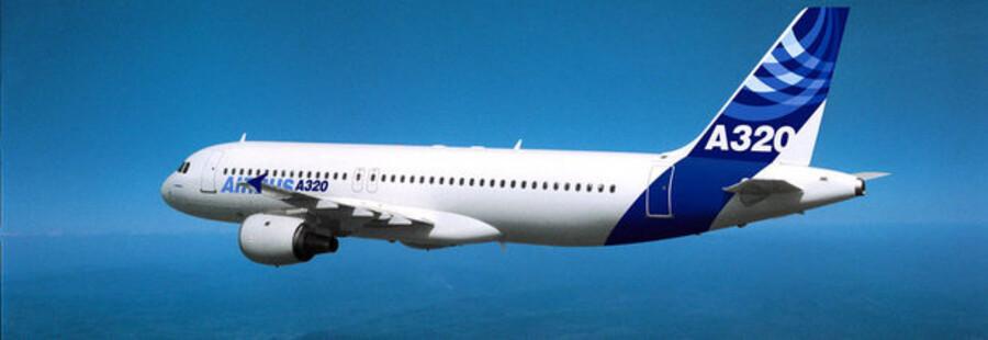 Airbus A320 er blandt de allermest brugte kortdistancefly i verden.