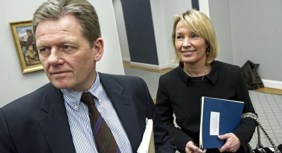 Lars Barfoed og Lene Espersen er blandt de nye folk, der skal vænne sig til nye poster hos de Konservative.