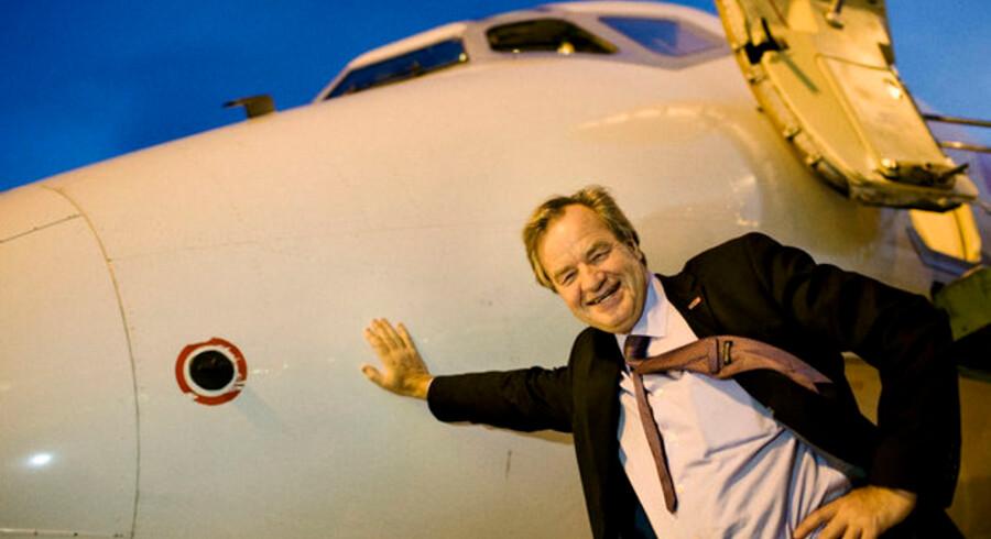 Bjørn Kjos er topchef i Norweigan, men klar til at gå ned i løn.