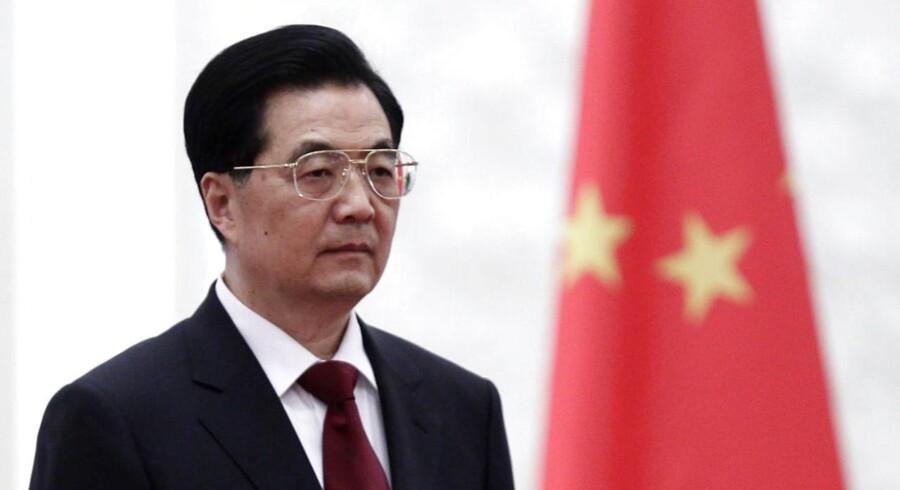 Kinas præsident Hu Jintao.