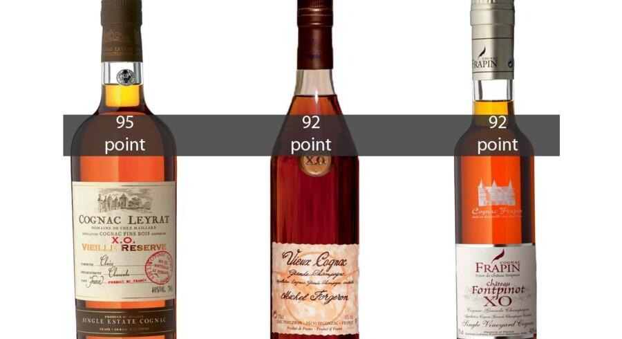Søren Frank har testet en række alternativer til cognac fra små domaine-producenter og huse.