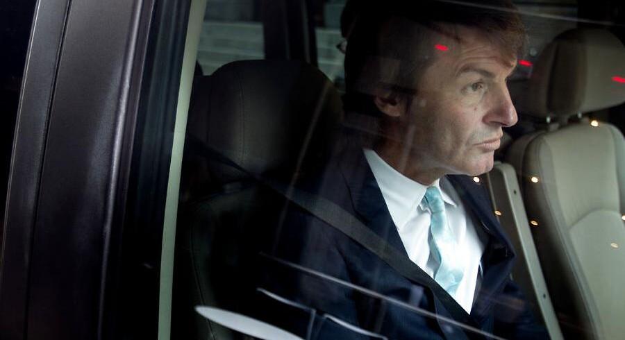 Nick Buckles, G4S' topchef skal nu stå skoleret for politikerne i OL-skandalen. CEO