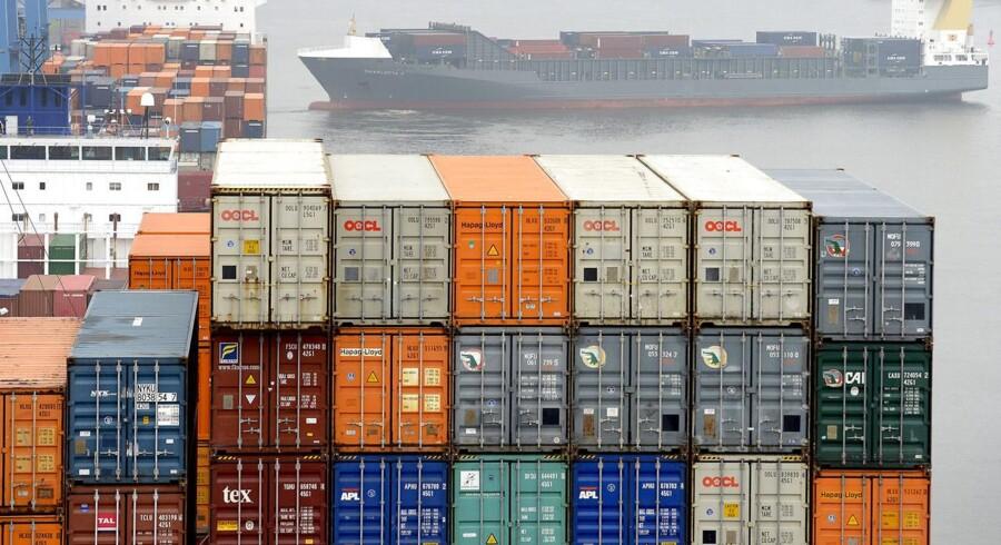 Væksten i den aktive kapacitet hos containerrederierne har nået sit højeste niveau i tre år