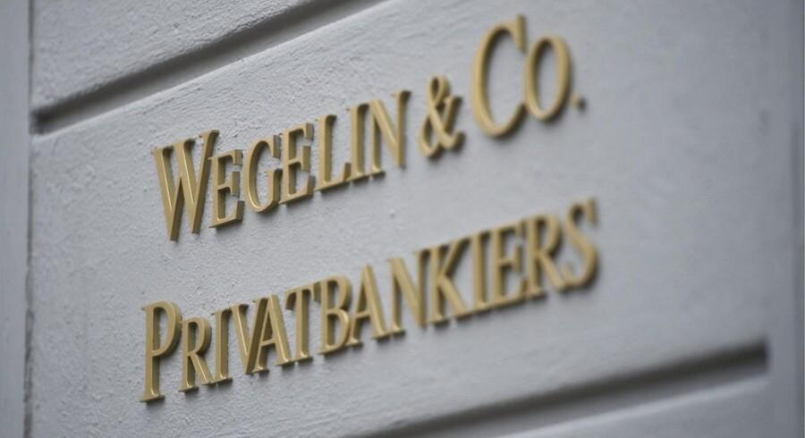 Skiltet skal snart pilles ned hos Schweiz' ældste privatbank Wegelin, der har eksisteret siden 1741.