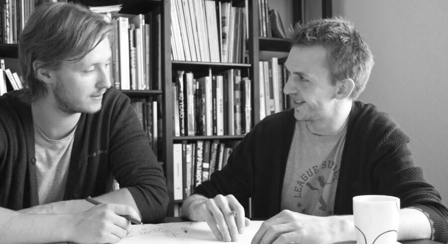 Niels Grubak Iversen og Søren Nielsen.