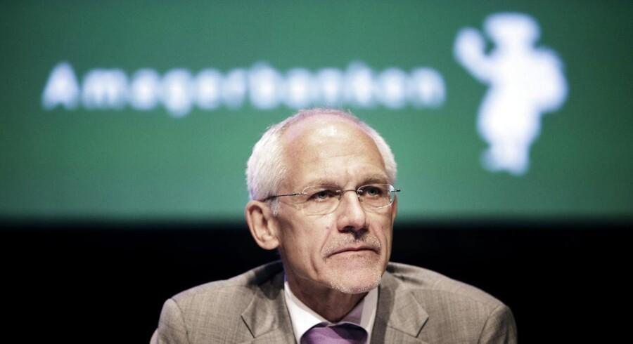 Amagerbanken tidligere bestyrelsesformand i banken, advokat N.E. Nielsen.