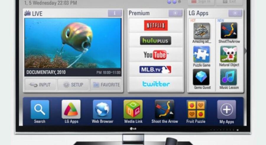 I et forsøg på at effektivisere udviklingen af fx apps og anden software, slår LG, Sharp og Philips nu pjalterne sammen for at arbejde mod en fælles TV-platform. Foto: Hardware.no