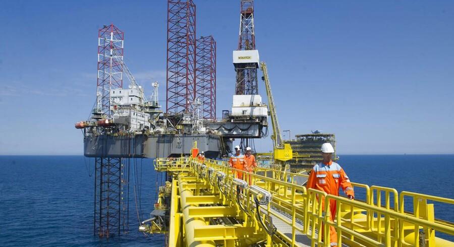 Olieproduktionen faldt med 8.500 tønder om dagen, mens produktionen er naturgas faldt med 50 mio. kubikmeter i forhold til måneden før.