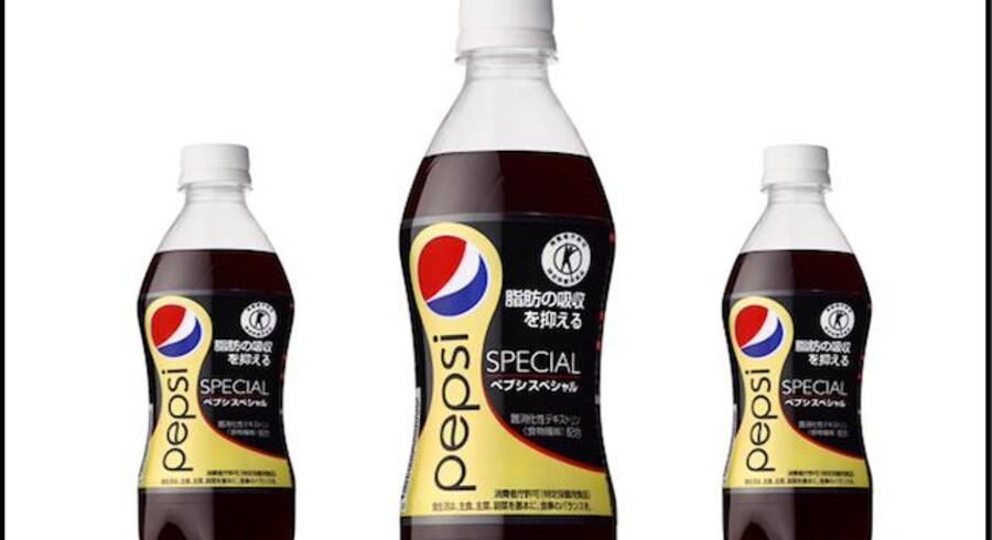 Pepsi Special sælges - foreløbig - kun til sodavandselskere i Japan. PRESSEFOTO