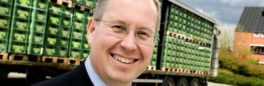 Jesper Jørgensen, adm. direktør Carlsberg Danmark