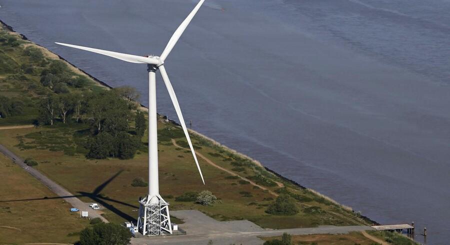 Det franske selskabet Areva åbner op for muligheden for at gå ind og købe vindaktiviteterne fra industriselskabet Alstom,