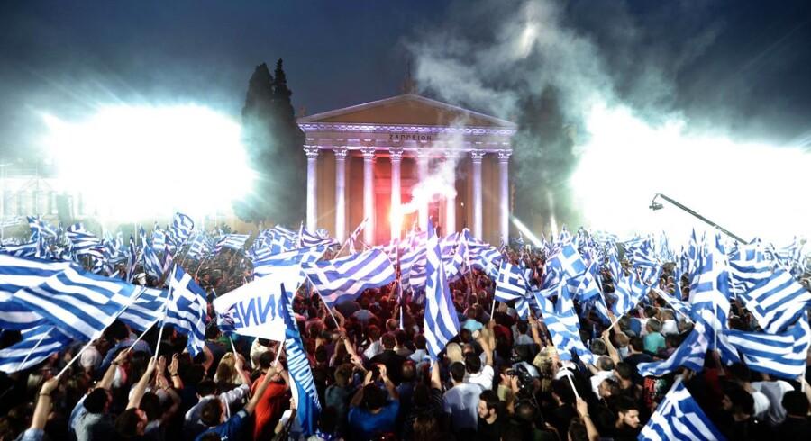 Parlamentsvalget i Grækenland har givet fornyet usikkerhed om landets fremtid.