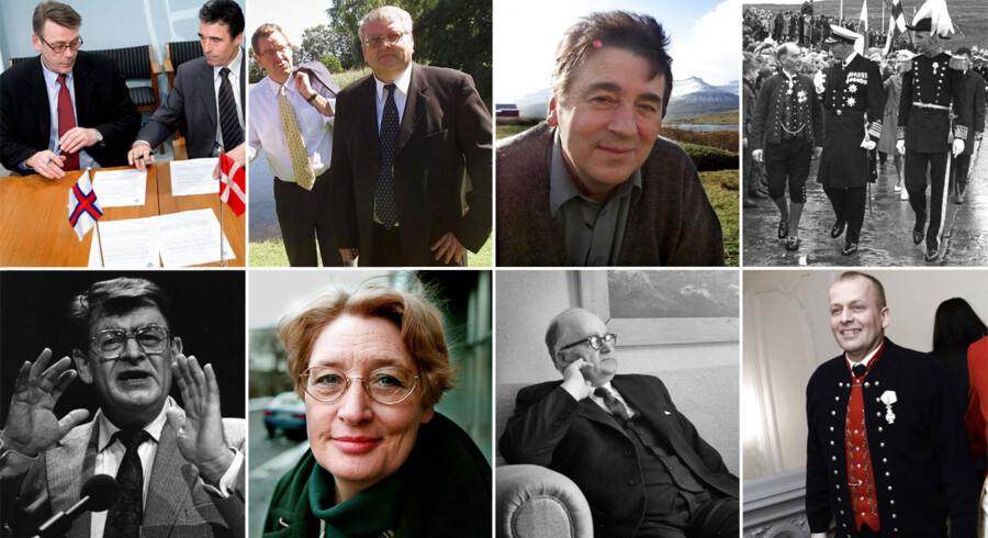 Færingerne skal til lagtings-valg den 1. september. Her kan du se nogle af de tidligere lagmænd som har været med til at forme Færøerne som vi kender det i dag.Klik videre for at se flere billeder af lagmændene gennem tiden.