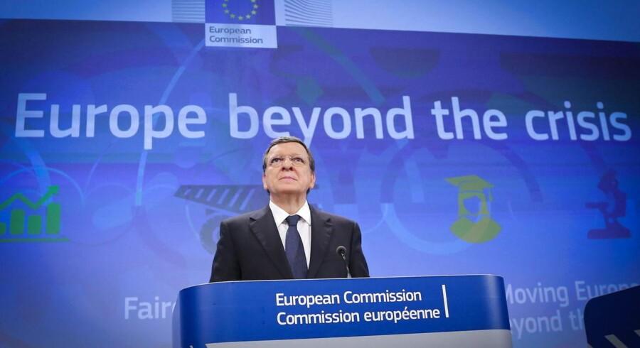 Krisen har bestemt ikke sluppet grebet om Europa, men nye tider er på vej - det er den tone, EU-Kommissionen med Jose Manuel Barroso i spidsen lægger i sine budskaber.