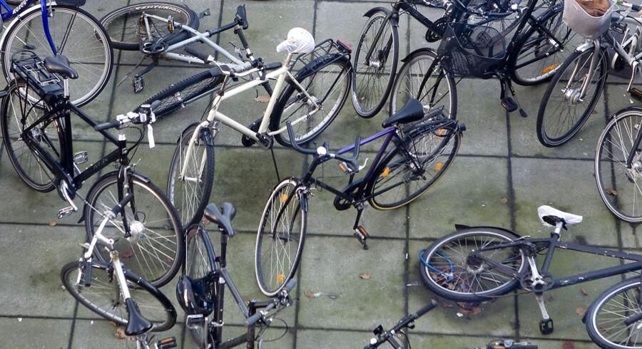 Firmaer som fjerner cykler overtræder straffeloven.