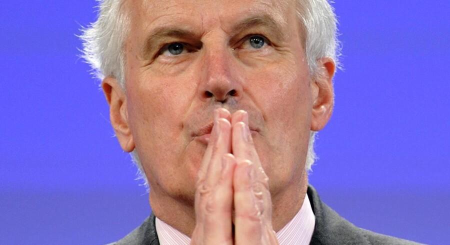 EU-komissær Michel Barnier understreger, at forslaget tager udgangspunkt i de eksisterende traktater. Foto: George Gobet