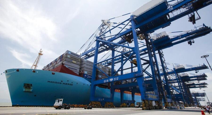 Moodys mener, at det er realitisk, at Maersk Line kan spare 350 millioner dollar årligt på 2M-alliance.