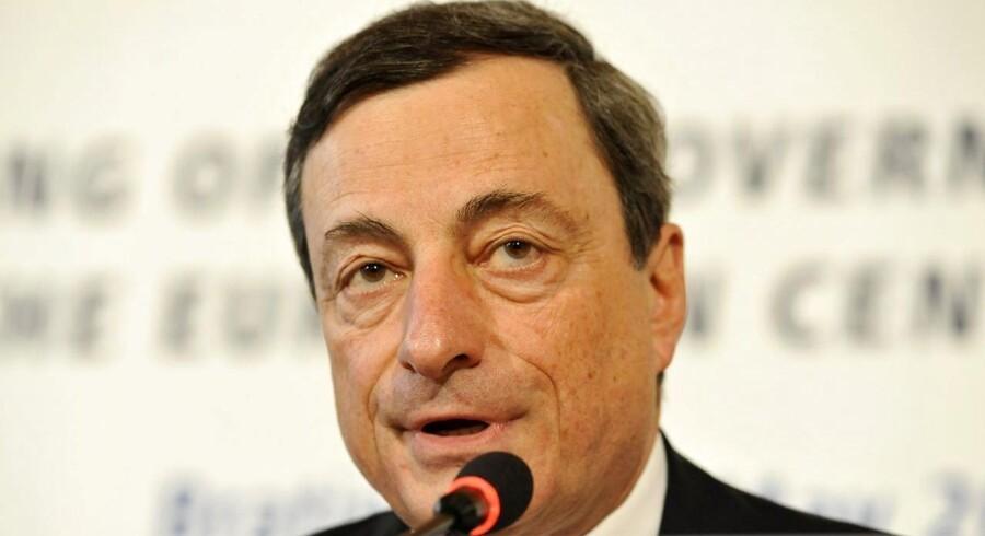 European Central Bank (ECB) præsident Mario Draghi