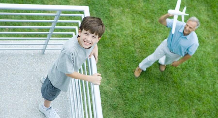 Det er ikke helt let for børn at få lov at arve et hus.