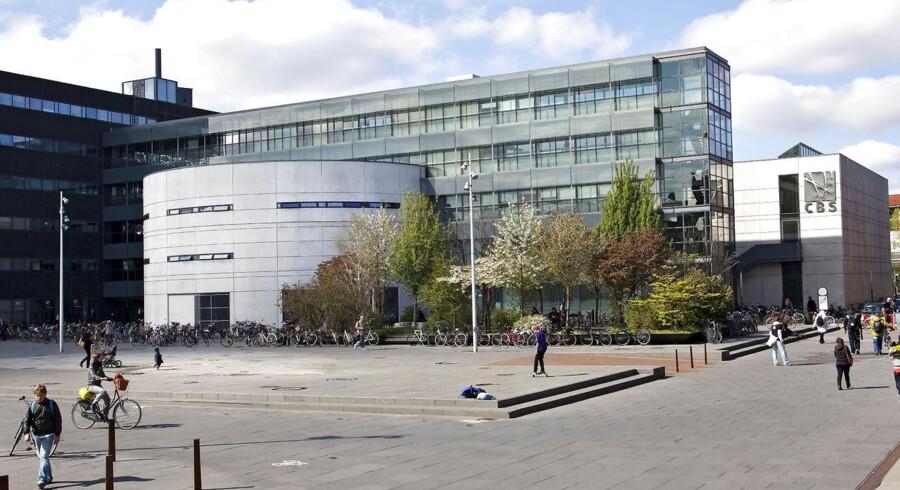 Uddannelse i Danmark, her ses CBS (Copenhagen Business School)