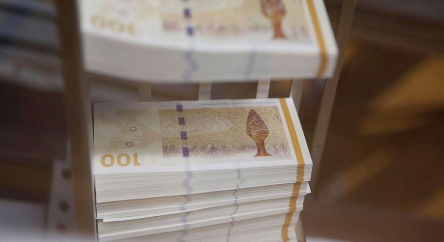 Det er svært at lægge pengeseddel på pengeseddel, når renten er så lav som nu.