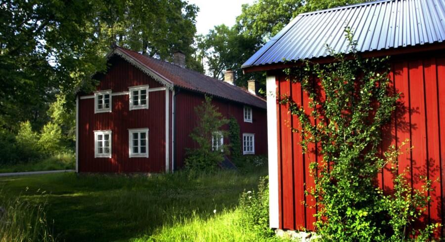 Svenske boligejere benytter sig mere af afdragsfrie lån end de danske. Arkivfoto: Jan Jørgensen