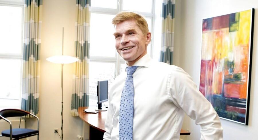 Administrerende direktør i Landbobanken, John Fisker.
