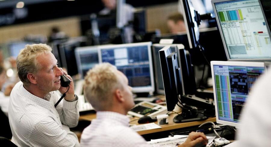 Intet mindre end 41 gange har det danske aktiemarked sat rekord i år.