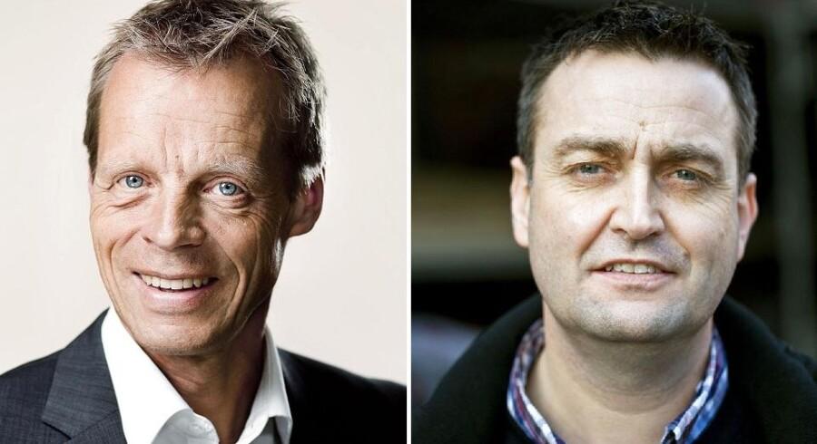 Lennart Damsbo-Andersen (tv) bliver ny beskæftigelsesordfører og Leif Lahn Jensen ny gruppeformand hos Socialdemokraterne, så rokaden internt i partiet er fuldendt efter justitsminister Karen Hækkerups farvel.