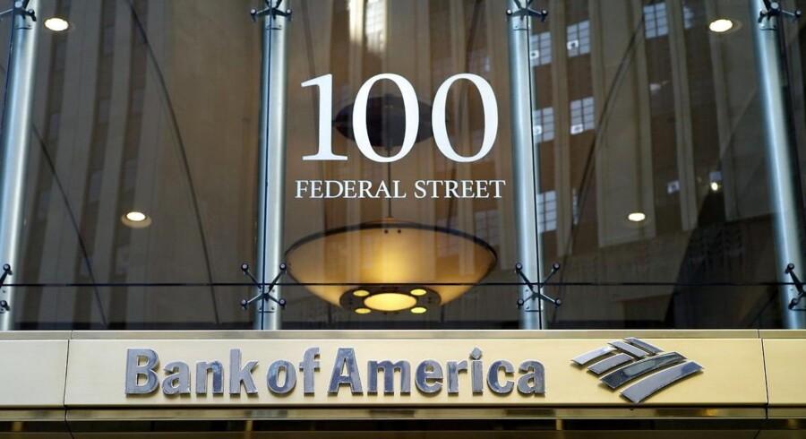 Bank of America er en af de finansaktier, som analytikerne i Barclays tror på som gode investeringer i år.