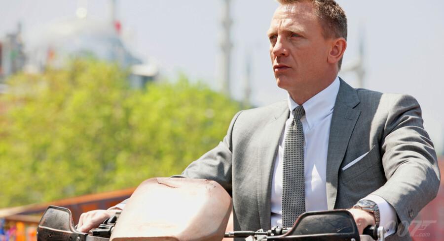 Daniel Craig som James Bond i Skyfall.