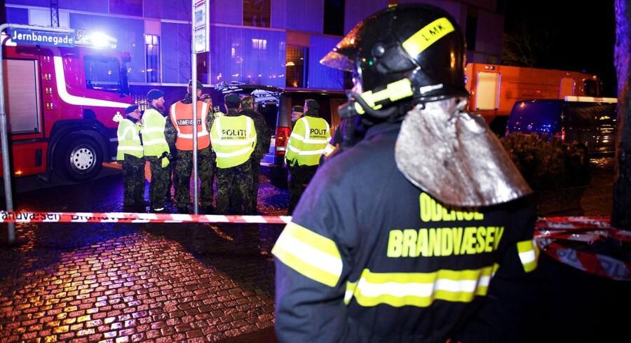 Odense Banegård Center blev fredag eftermiddag ramt af en bombetrussel, som blev modtaget via sms. Truslen viste sig dog at være falsk.