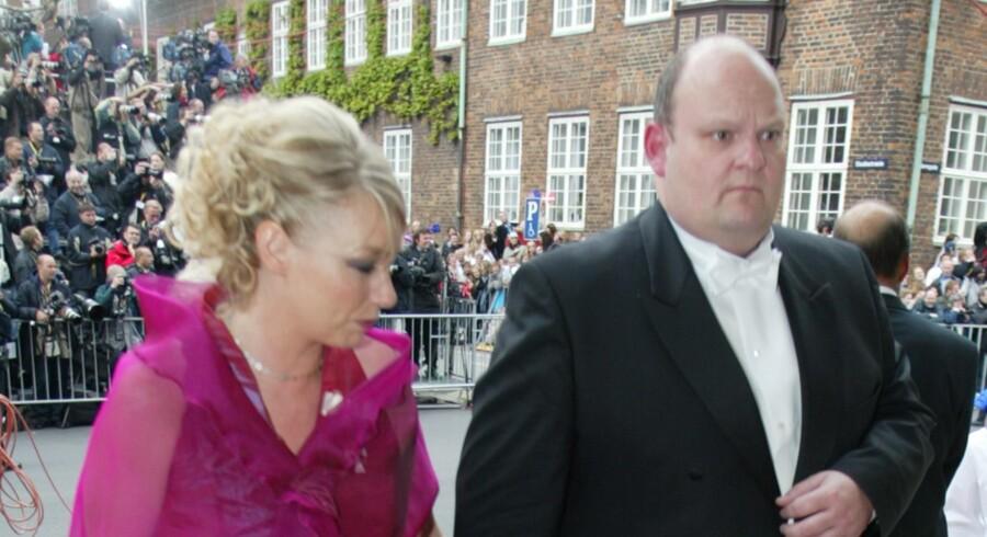 Henriette Kjær og Erik Skov Petersen i 2004.