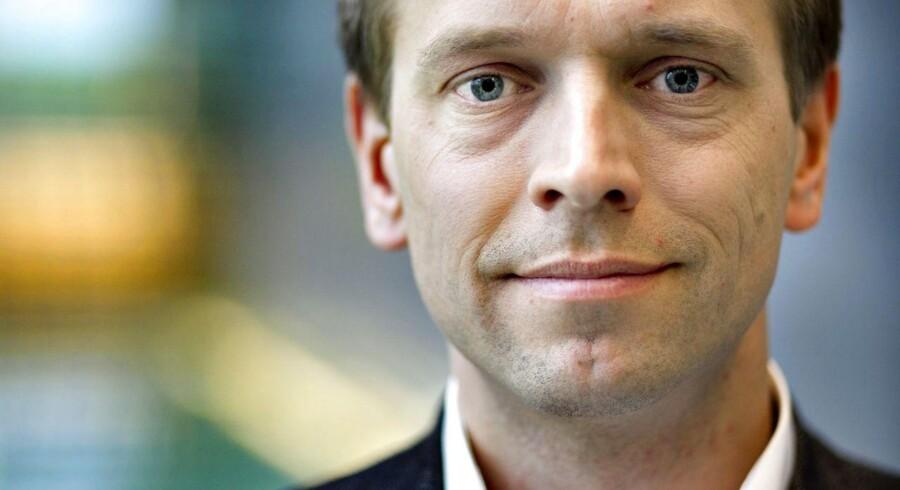 B&O-chefen Tue Mantoni skuffer investorerne.