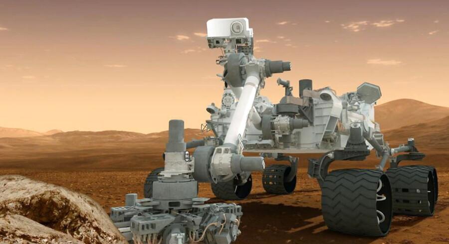 NASA's rover Curiosity har tilsyneladende fundet metanforbindelser i nye analyser af jordprøver fra Mars.