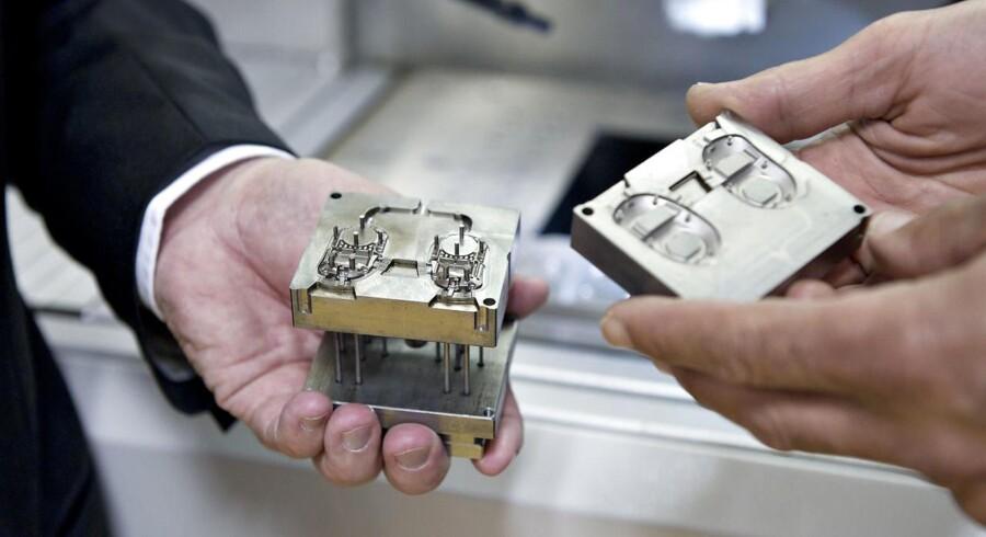 Høreapparatsproducenten William Demant var klar med regnskab tirsdag formiddag. Arkivfoto.