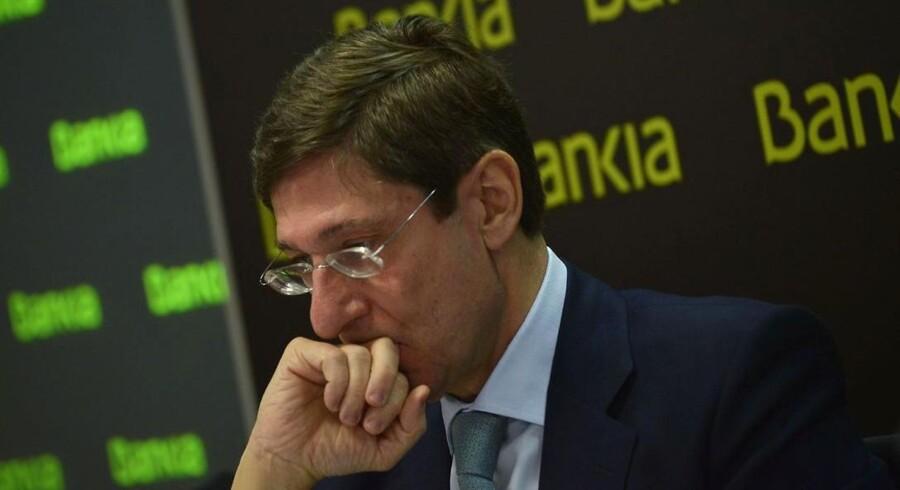 Bankias formand Jose Ignacio Goirigolzarri måtte torsdag fortælle om enorme nedskrivninger i den nationaliserede spanske storbank.