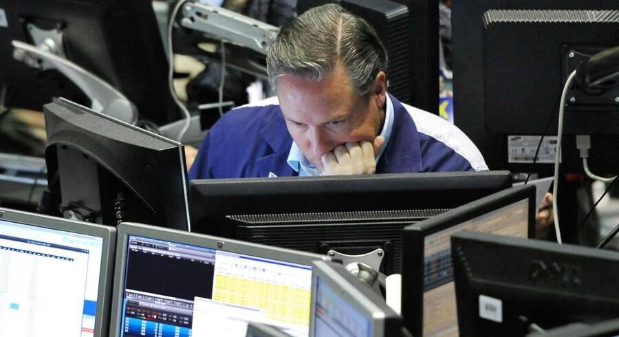 VIX-indekset handles på børsen i Chicago.